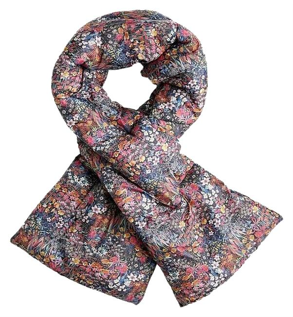 Item - Floral (Nwt) Liberty Print Oversized Puffer Scarf/Wrap