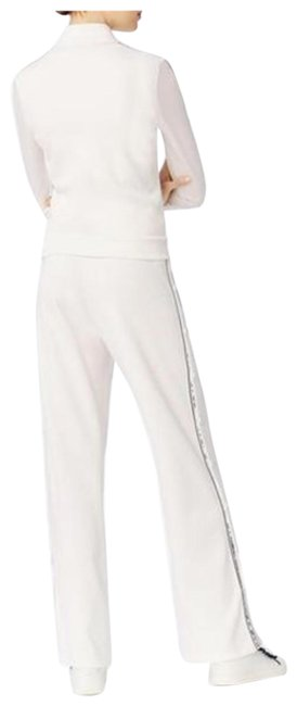 Tory Burch White/Black #38739 Activewear Bottoms Size 2 (XS) Tory Burch White/Black #38739 Activewear Bottoms Size 2 (XS) Image 1
