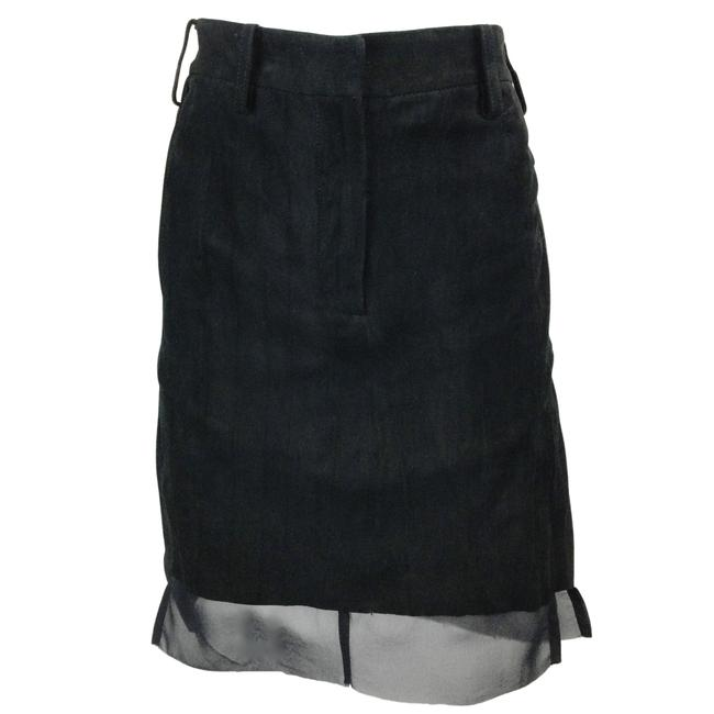 Item - Black Suede Skirt Size 10 (M, 31)