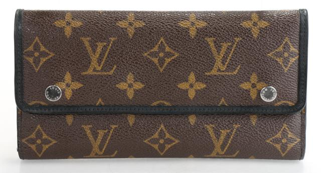 Item - Brown Long Wallet Monogram Macassar Men's Jewelry/Accessory