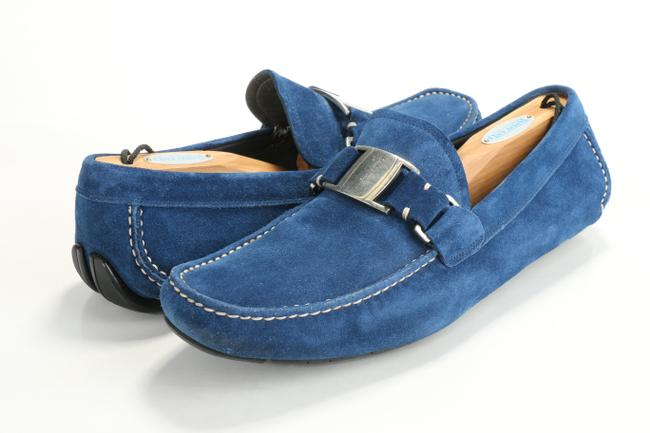 Item - Blue Sardegna 2 Suede Drivers Shoes