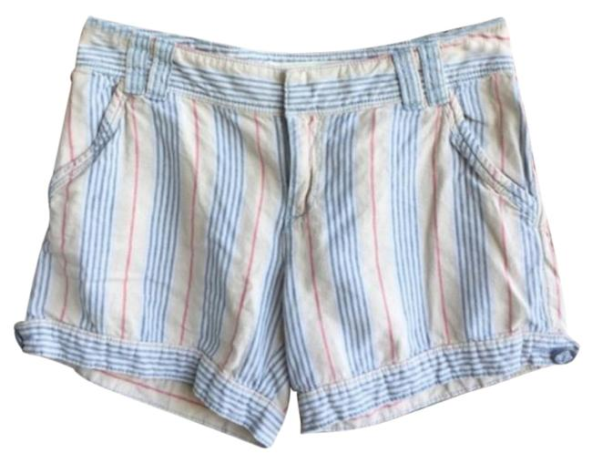 Item - Blue Cream Anthro Daughters Of The Liberation Striped Shorts Size 00 (XXS, 24)