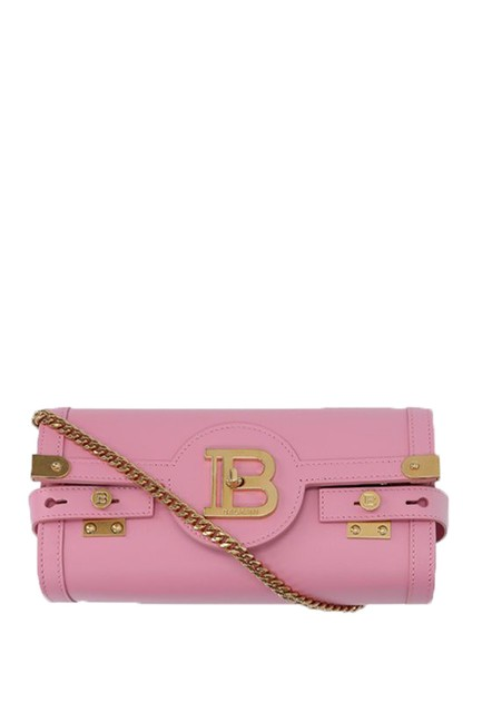 Item - Clutch B-buzz 23 Clutch/Crossbody Pink Leather Cross Body Bag