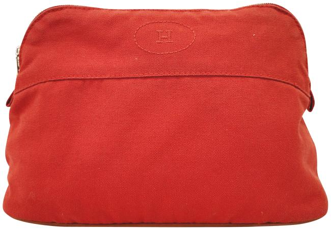 Item - Orange Toiletry Pouch Cosmetic Bag