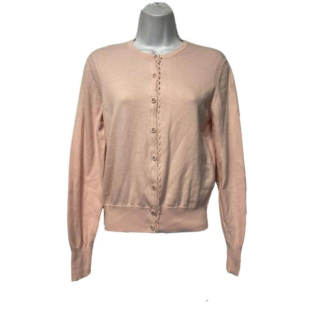 Item - Pink 254 Button Front Sweater Cardigan Size 8 (M)