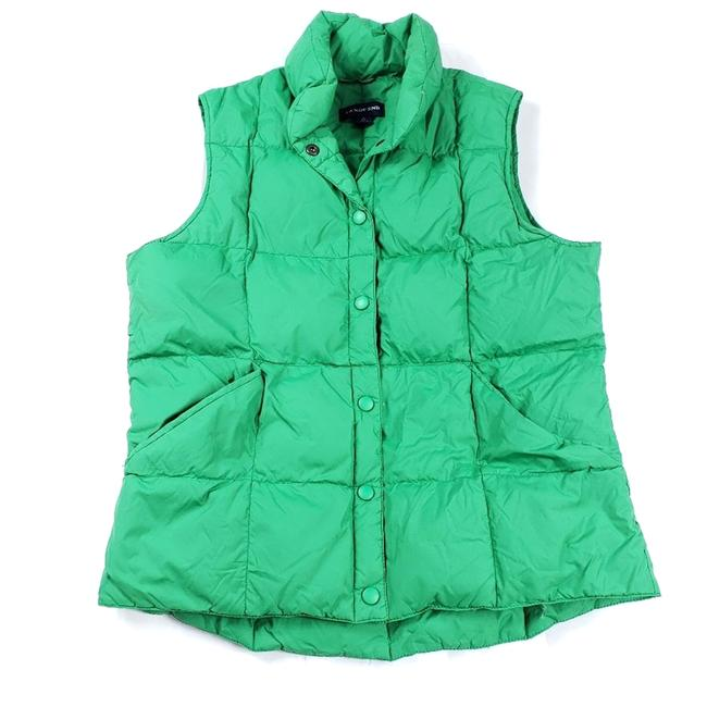 Item - Green Quilted Goose Down Puffer Small 178924 Vest Size 6 (S)