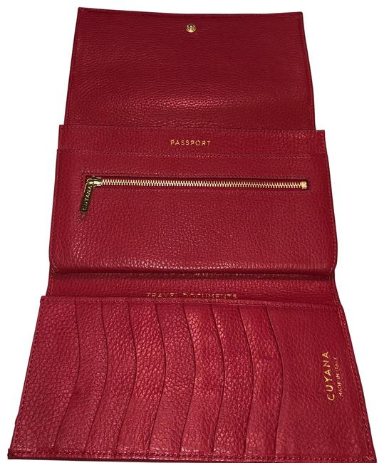 Item - Red Travel Wallet