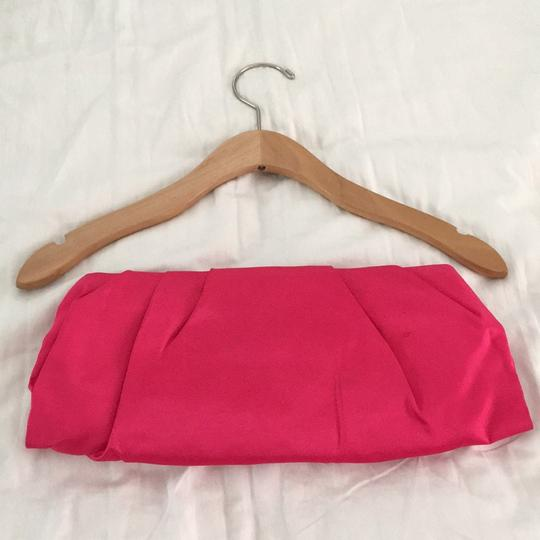 Express Oversized Fuchsia Clutch