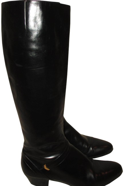 Item - Black Vintage Leather Lined Aa Boots/Booties Size US 6.5 Narrow (Aa, N)