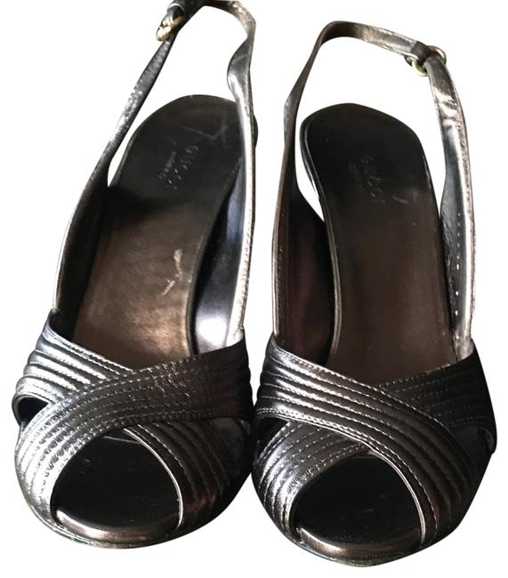 Item - Brown Sandals Pumps Size US 8 Regular (M, B)