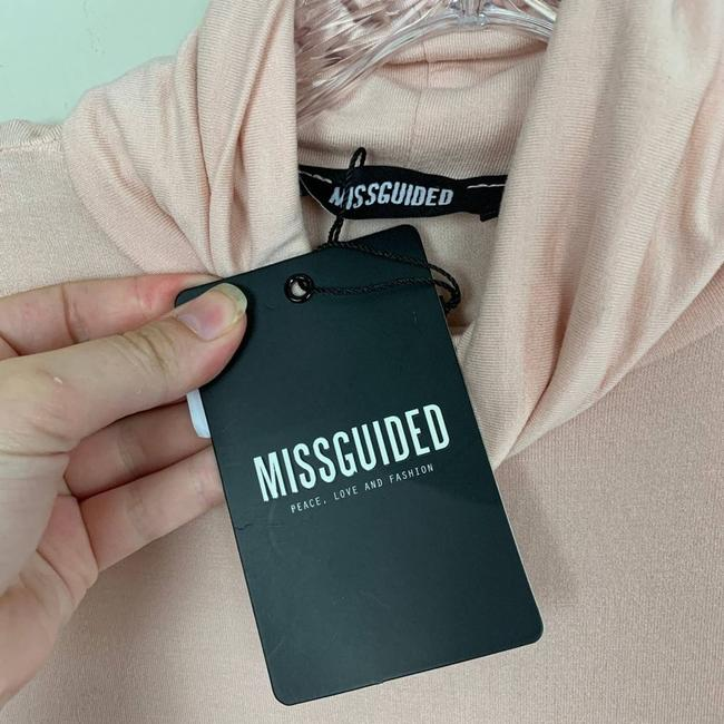 Missguided Pink Long Sleeve Bodycon Short Casual Dress Size 6 (S) Missguided Pink Long Sleeve Bodycon Short Casual Dress Size 6 (S) Image 7