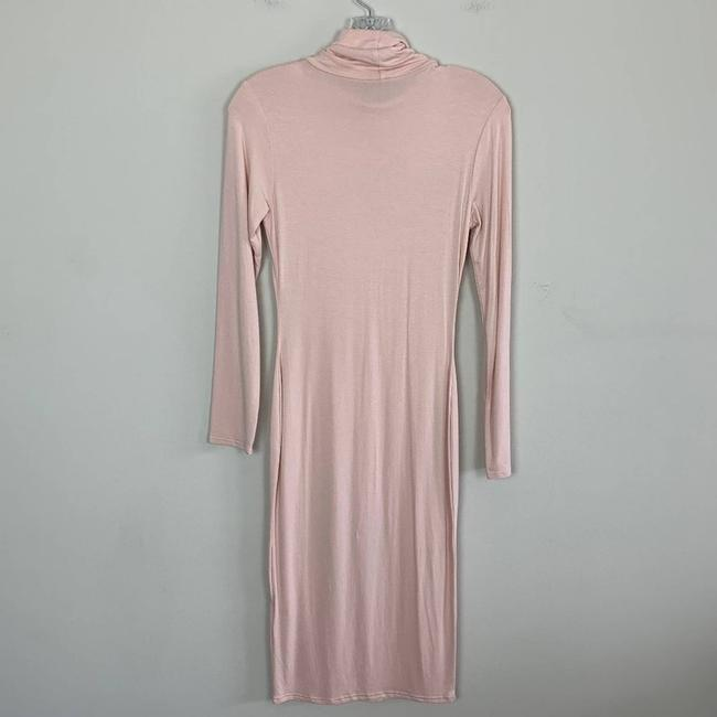Missguided Pink Long Sleeve Bodycon Short Casual Dress Size 6 (S) Missguided Pink Long Sleeve Bodycon Short Casual Dress Size 6 (S) Image 8