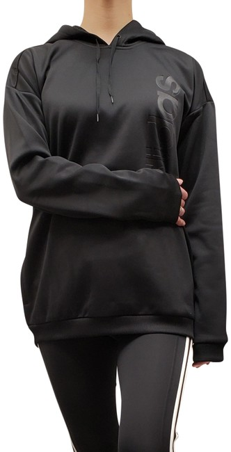 Item - Black Climawarm Gear Up Sweatshirt Activewear Outerwear Size 4 (S)