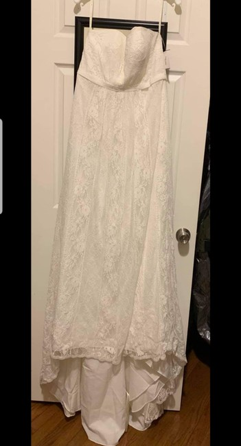 Item - Ivory Lace Casual Wedding Dress Size 14 (L)