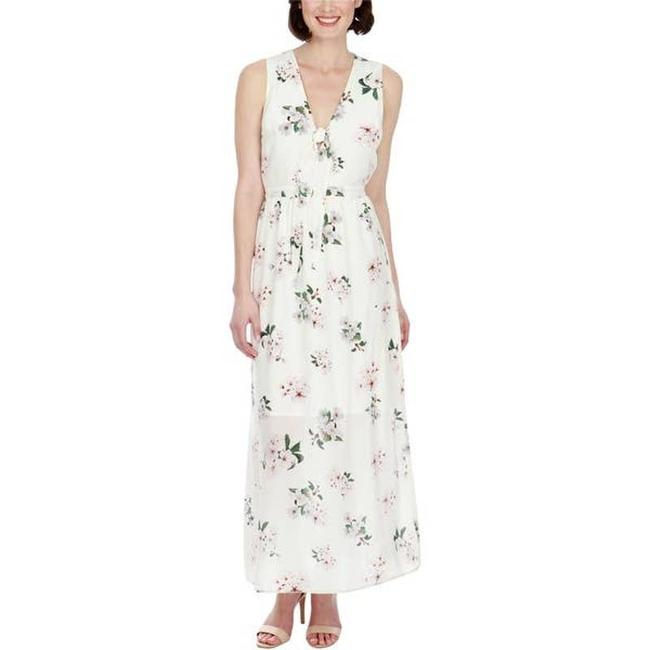 Item - Cream Ivory Floral Nwot Casual Maxi Dress Size 10 (M)