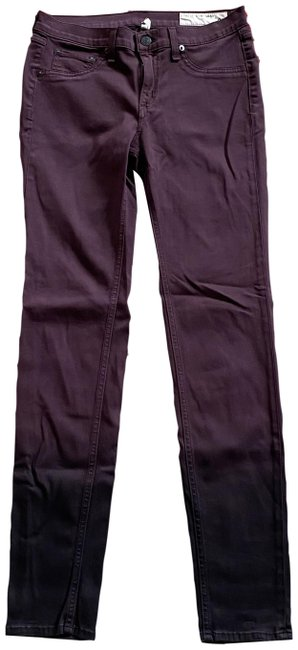 Item - Wine Ombre Legging Jegging Actual W28.5 X I 30 1/4 Skinny Jeans Size 29 (6, M)