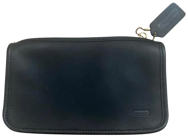 Item - Pouch Black Leather Clutch