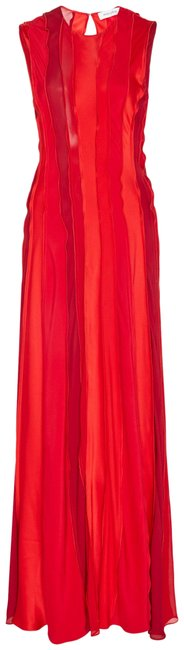 Item - Fucshia Red Two Long Night Out Dress Size 6 (S)
