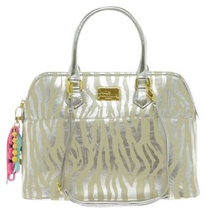 Paul's Boutique Silver/Nude Travel Bag