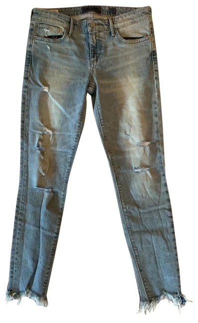 Item - Very Light Wash Denim Stella Skinny Jeans Size 4 (S, 27)