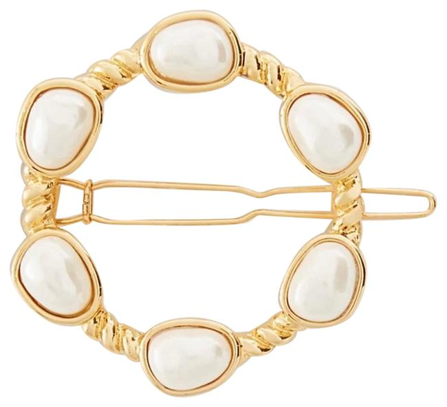Item - Gold Pearlized Pin Hair Accessory