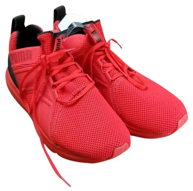 Item - Red Black Enzo Weave Training Sneakers Size US 12 Regular (M, B)