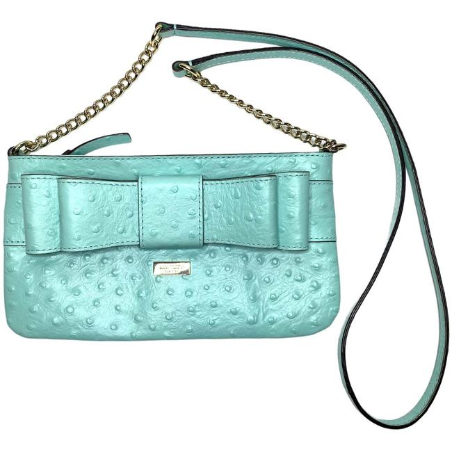 Item - Turquoise Leather Cross Body Bag