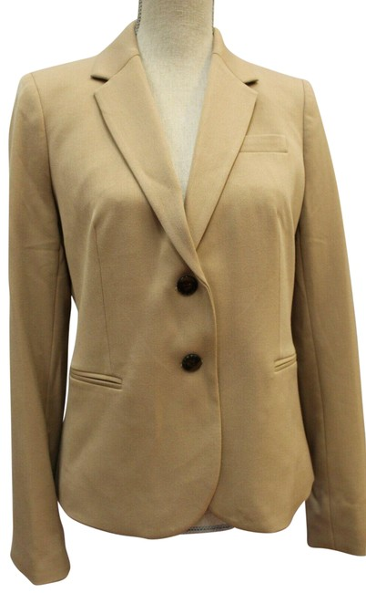 Item - Tan/Brown Jacket Coat Blazer Size 2 (XS)