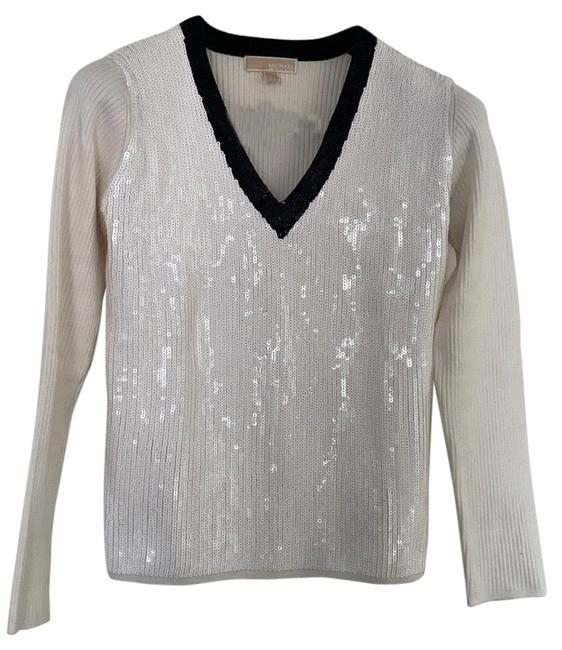 Item - By Fabulous Sequin Front with Black White Sweater