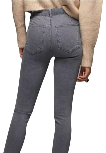 Item - Gray Light Wash Join Life Jeggings Size 34 (12, L)