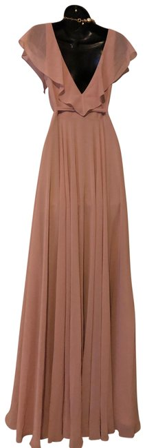 Item - Apricot 1982 Whipped Long Formal Dress Size 0 (XS)