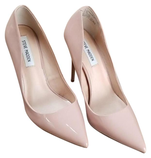 Item - Cream Daisie Suede Pumps Size US 8.5 Regular (M, B)