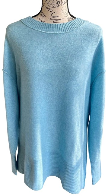 Free People Oversized Cashmere Blue Sweater Free People Oversized Cashmere Blue Sweater Image 1