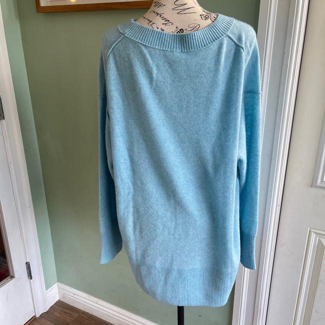 Free People Oversized Cashmere Blue Sweater Free People Oversized Cashmere Blue Sweater Image 3