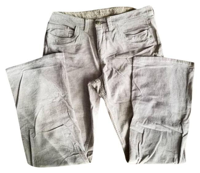Item - Silver Light Wash Life+style Corduroy 10 Boot Cut Jeans Size 33 (10, M)