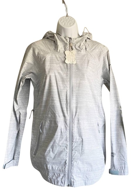 Item - White Whisper Ridge Omni Tech Waterproof Activewear Outerwear Size 4 (S)
