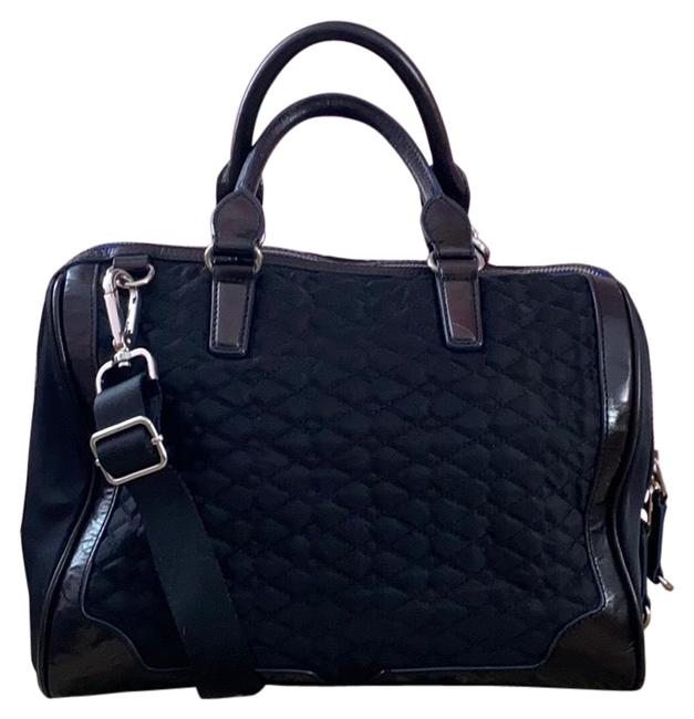Item - Doctor Black Canvas and Leather Satchel