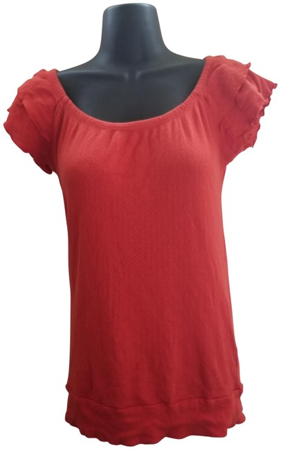 Item - Red Blouse Size 6 (S)