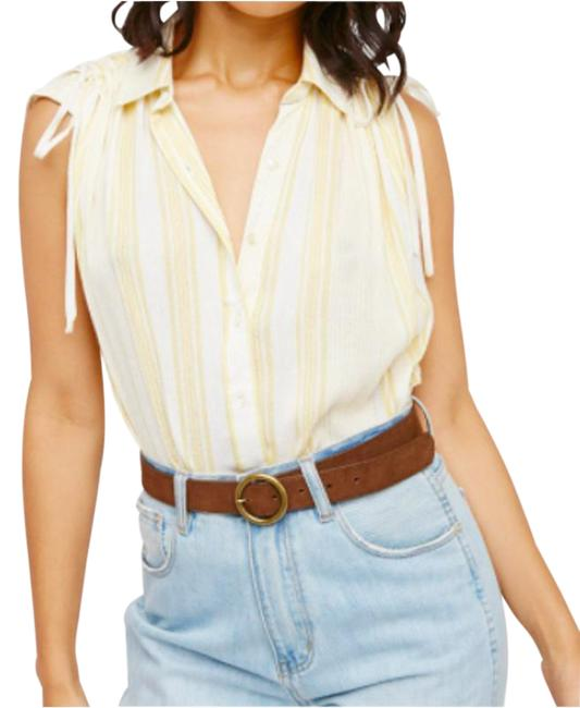 Item - Yellow XS Baby Blues Button-down Top Size 0 (XS)