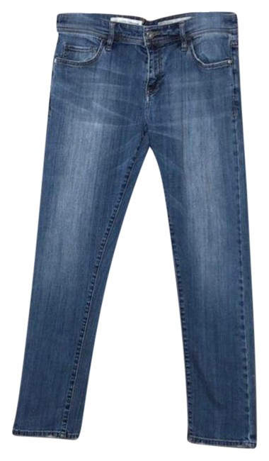 Item - Pilcro and The Letterpress Blue Medium Wash Hyphen Capri/Cropped Jeans Size 29 (6, M)