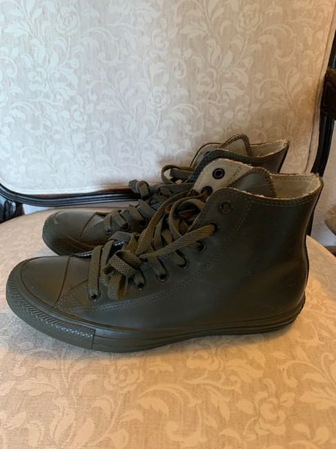 Converse Olive Green 144743c Boots/Booties Size US 9 Regular (M, B) Converse Olive Green 144743c Boots/Booties Size US 9 Regular (M, B) Image 3