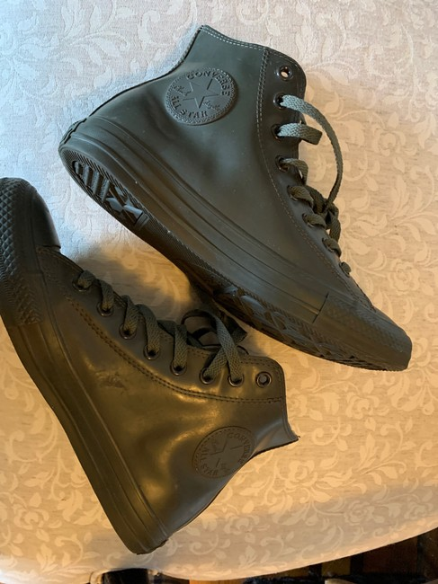 Converse Olive Green 144743c Boots/Booties Size US 9 Regular (M, B) Converse Olive Green 144743c Boots/Booties Size US 9 Regular (M, B) Image 7