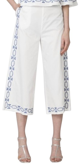 Item - White Foxiedox Spellgirl Culottes Large Capris Size 12 (L, 32, 33)