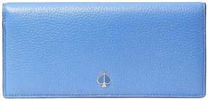 Kate Spade kate spade Polly Bifold Deep Cornflower Leather Continental Wallet