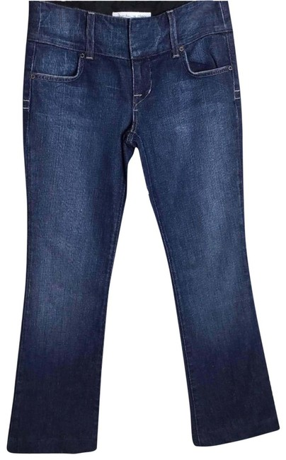 Item - Blue Medium Wash Freedom Of Choice 6/28 Boot Cut Jeans Size 28 (4, S)