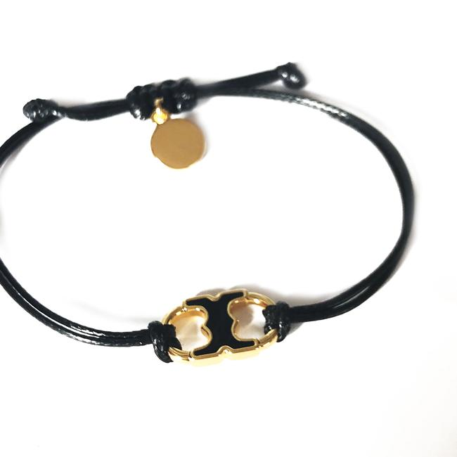 Item - Black New Embrace Ambition Silk Gemini Enamel Bracelet
