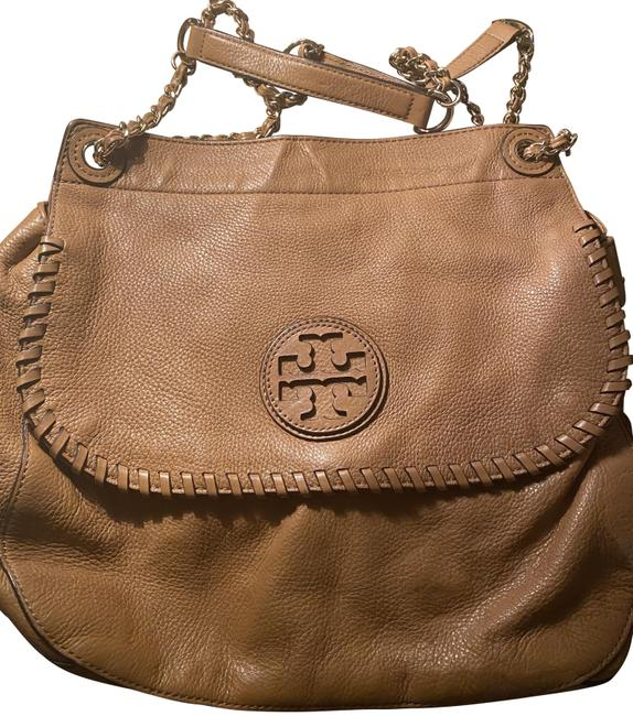 Item - Purse Brown Lambskin Leather Cross Body Bag