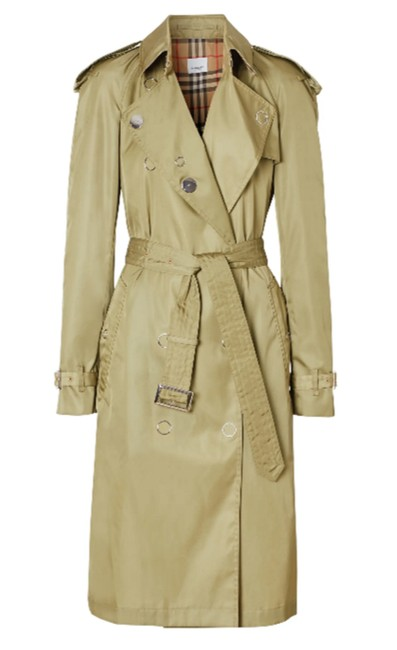 Item - Rich Olive Oban Double Breasted Raincoat Coat Size 12 (L)