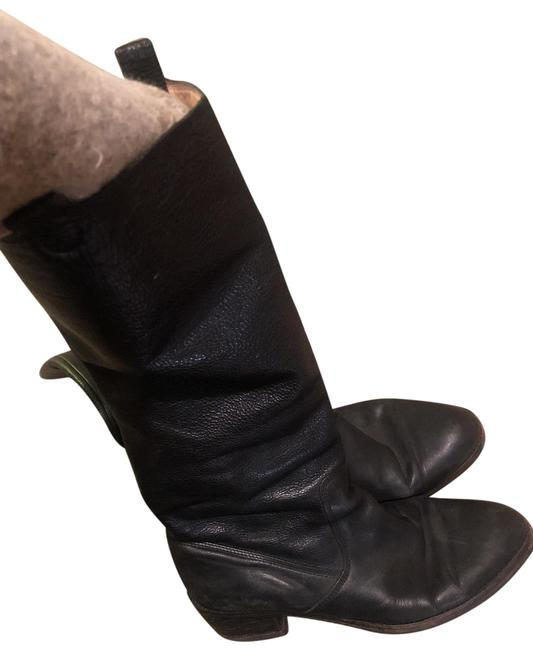 Item - Black Iconic Classic Timeless Riding Boots/Booties Size EU 40.5 (Approx. US 10.5) Regular (M, B)