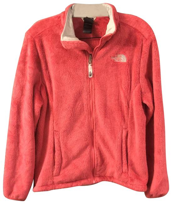 Item - Coral Osito Orange Fleece Coat Jacket Size 8 (M)